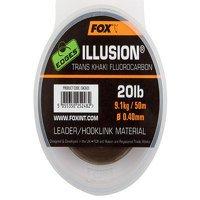 Fox 0.50mm Illusion Trans Khaki Leader (CAC604)
