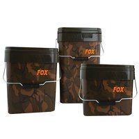 Fox Camo 10ltr Square Bucket (CBT006)