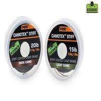 Fox Camotex 20lb Dark Camo Stiff Coated Braid (CAC444)