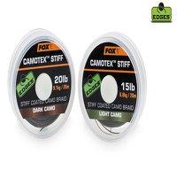 Fox Camotex 25lb Dark Camo Stiff Coated Braid (CAC445)