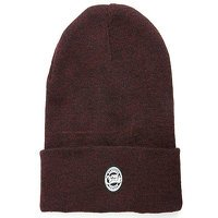 Fox Chunk Burgundy/Black Marl Beanie (CPR761)