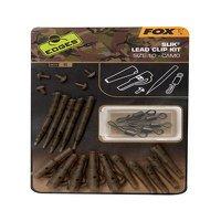 Fox Edges Camo Slik Lead Clip Kit Size 10