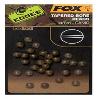 Fox Edges Camo Tapered Bore Bead 4mm