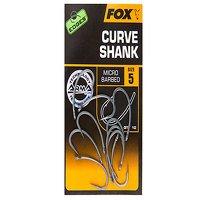 Fox Edges Size 8 Barbless Curve Shank Hook (CHK197)