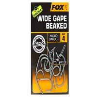 Fox Edges Size 8 Barbless Wide Gape Beaked Hook (C...