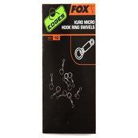 Fox Kuro Microhook Ring Swivels (CAC586)