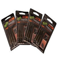 Fox Lead Clip 30lb Brown Submerge Leaders with K/C...