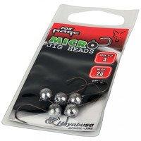 Fox Rage Micro Jig Heads 2g Size 4 (5 Per Pack)