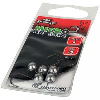 Fox Rage Micro Jig Heads 2g Size 6 (5 Per Pack)