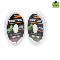 Fox Reflex 35lb Dark Camo Soft Sinking Braid (CAC454)
