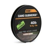 Fox Submerge Camo Lead Free Leaders Fleck Camo 40lb - 10m