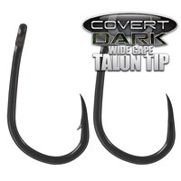 Gardner Covert Dark Wide Gape Talon Tip Hook Size 10 Barbless