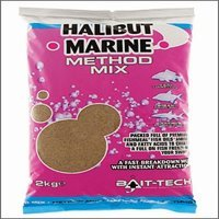 Bait Tech Halibut Marine Method Mix x 2k...