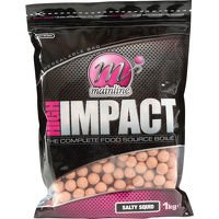 Mainline High Impact Boilies 15mm - Salty Squid 1k...