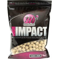 High Impact Boilies 20mm - Peaches & Cream 1kg