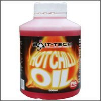 Bait Tech Hot Chilli Oil x 500ml Bottle