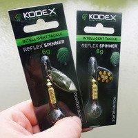 Kodex Reflex Spinner Round-Blade 6g Lure...