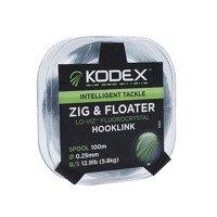 Kodex Zig & Floater Hooklink - 0.25mm/12.9lb (100m)