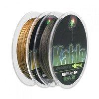 Korda Kable Leadcore Weed - 25m