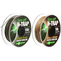 Korda N-Trap Semi Stiff Gravel Brown 15lb - 20m