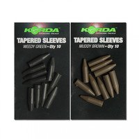 Korda Tapered Silicone Sleeves - Green