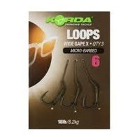 Korda Loop Rigs Size 6 Barbless Krank - 18lb