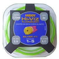Middy Hi-Viz Shockcore Hollow Elastic Grade 1-5 - Green (1601)