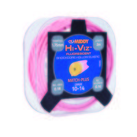 Middy Hi-Viz Shockcore Hollow Elastic Grade 10-14 - Pink (1605)