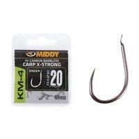 Middy KM-4 Carp X-Strong Spade Hook - Size 20