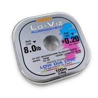 Middy Lo-Viz Fluorocrystal Line 0.08/1.7lb 100m Spool (1836)