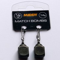 Middy Square Match Bombs - 3/8oz 2pc
