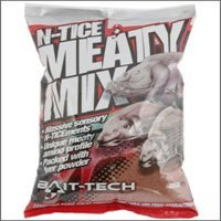 Bait Tech N-Tice Meaty Mix x 2kg Bag