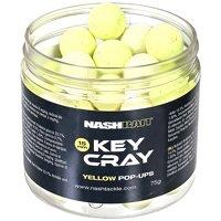 Nash Key Cray Pop Ups Yellow - 15mm (75g)