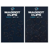 Nash Maggot Clips - Large (10pcs)