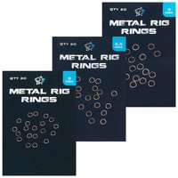 Nash Metal Rig Rings 2.5mm (20pcs)