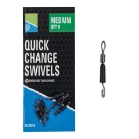 Preston Innovations Quick Change Swivels - Small