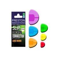 Preston Innovations Slip Dacron Connector - Large Orange
