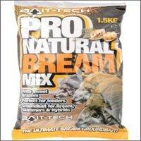 Bait Tech Pro Natural Bream Groundbait x 1.5kg Bag