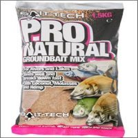 Bait Tech Pro Natural Groundbait x 1.5kg...
