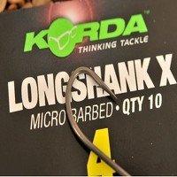 Size 6 Long Shank X Hook KLSX6