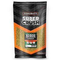 Sonubaits 50:50 Method & Paste Green Groundbait - 2kg