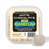 Sonubaits 5mm Bandum - White Chocolate