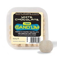 Sonubaits 7mm Bandum - White Chocolate