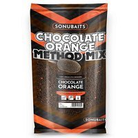 Sonubaits Chocolate Orange Method Mix Groundbait - 2kg