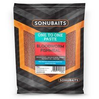 Sonubaits One To One Paste - Bloodworm Fishmeal (500g)