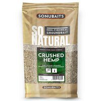 Sonubaits So Natural Crushed Hemp - 500g