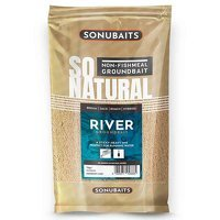 Sonubaits So Natural River Groundbait - 1kg