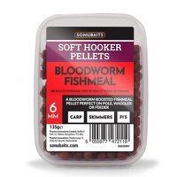 Sonubaits Soft Hooker Pellets 6mm - Bloodworm Fishmeal
