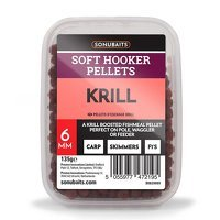 Sonubaits Soft Hooker Pellets 6mm - Krill