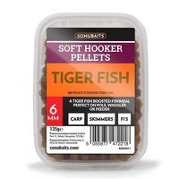 Sonubaits Soft Hooker Pellets 6mm - Tiger Fish